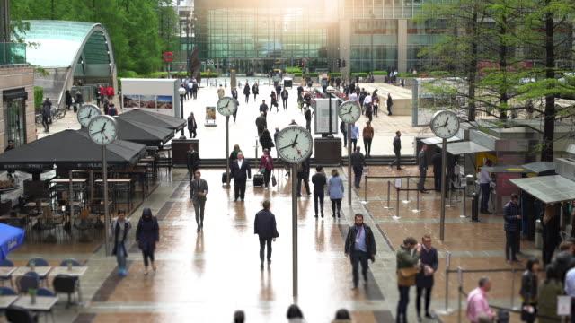 ロンドンの時計、タイムラプス ビデオ