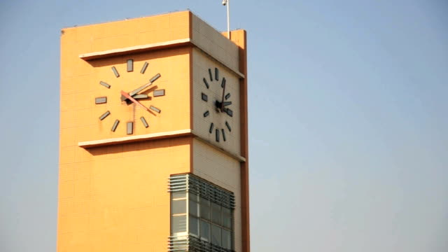 clock-tower time-lapse video