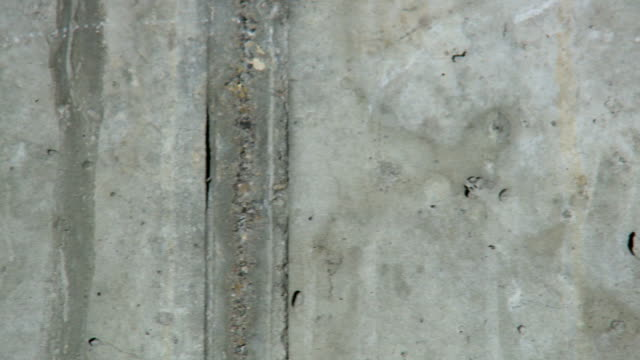 Close concrete moving Wall background video