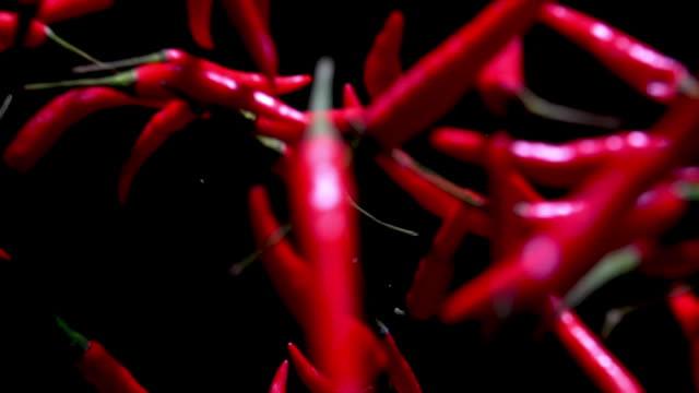 Close up chilli direct to camera