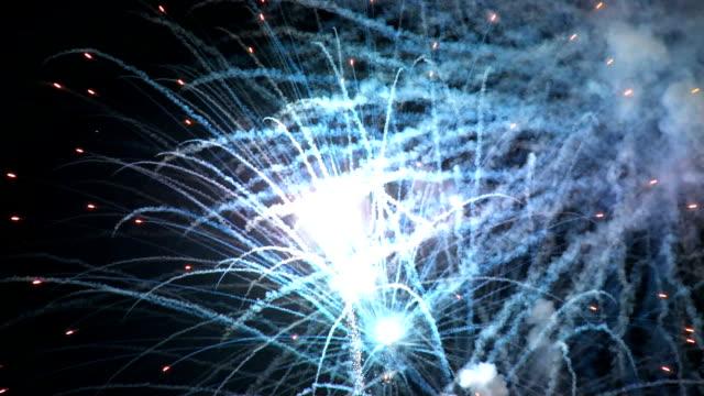 Close up Fireworks HD video