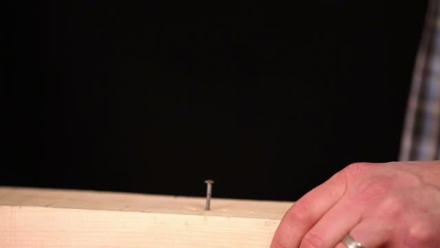 Close up hammer video