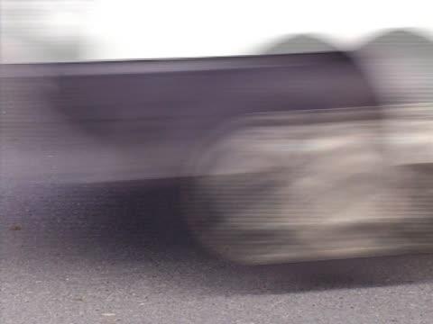 Close up of a road Close up of a road 笹 stock videos & royalty-free footage
