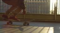 istock Close up of a skateboard flip 1161347074