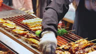 istock Close up of barbecue 1307762277