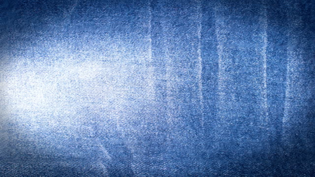 close up of blue jeans. 4k. - cucitura video stock e b–roll