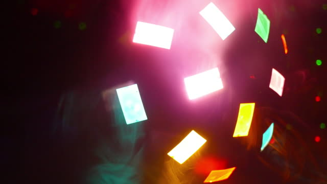 Close Up of Disco Party Light video