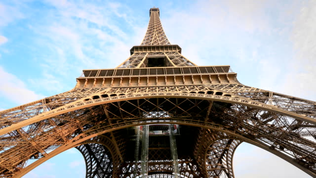 Close up of EIffel tower - Stock Video