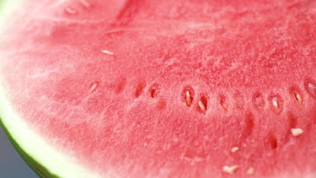 close up of  Half of juicy watermelon Kuala Lumpur, Malaysia watermelon stock videos & royalty-free footage