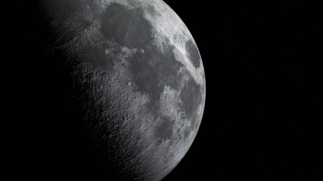 Close up of Moon cycle or Lunar phase animation Close up of Moon cycle or Lunar phase animation moon stock videos & royalty-free footage