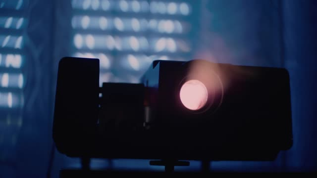 Close up of old photo slide projector Close up of old photo slide projector photographic slide stock videos & royalty-free footage