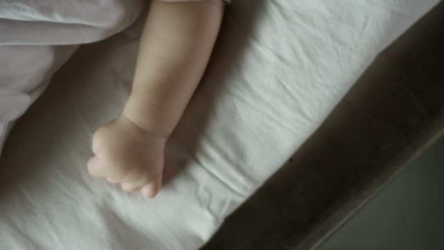 Close up of the baby video