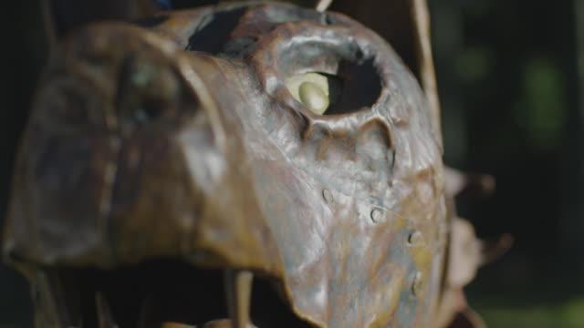 Close up of the Dacian Draco