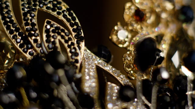 Close Up Of The Jewelry Decoration video