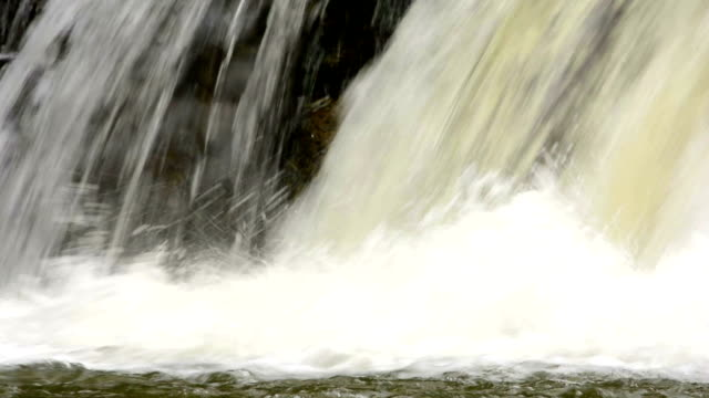 Close Up Of Waterfall video