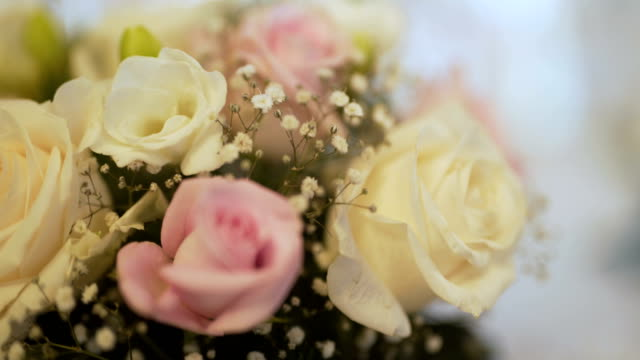 Close up of Wedding Flowers Detail