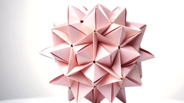 how to make origami: origami spike ball   360x640