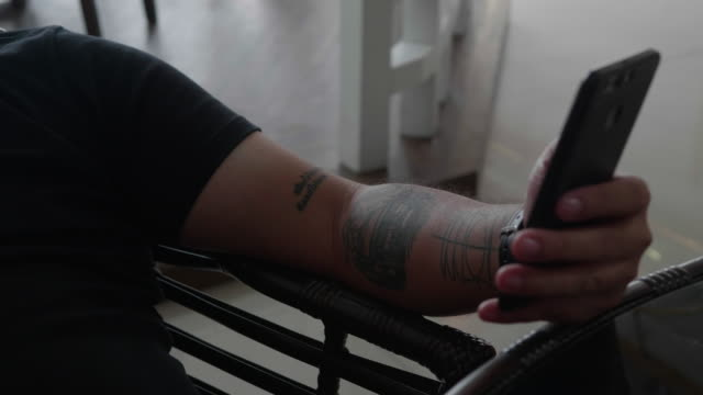 airplane tattoo on finger