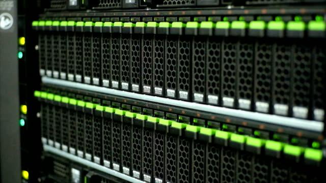 Close up storage in data center video