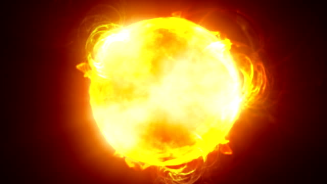 Close up Sun HD video