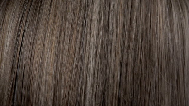 Close up view of hair care in slow motion Close up view of hair care in slow motion highlights hair stock videos & royalty-free footage