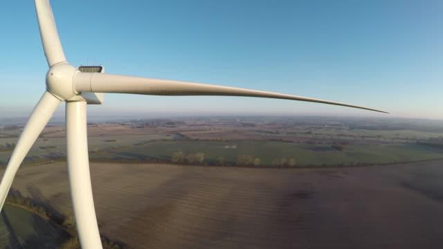 Closer to a wind turbine video