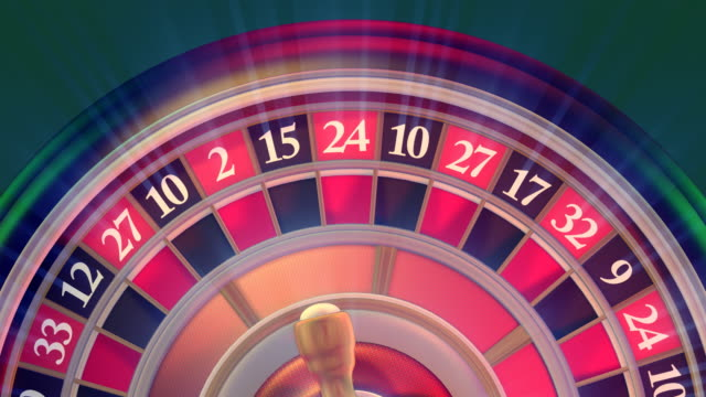 Close-up Casino Roulette video