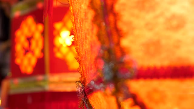 close-up: chinese lantern - китайский фонарь стоковые видео и кадры b-roll