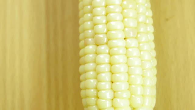 close-up corn video