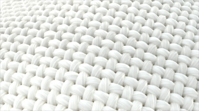 Close-up fabric fiber