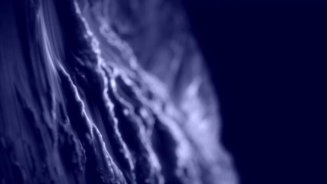 Yakın çekim fraktal arka plan animasyon. video