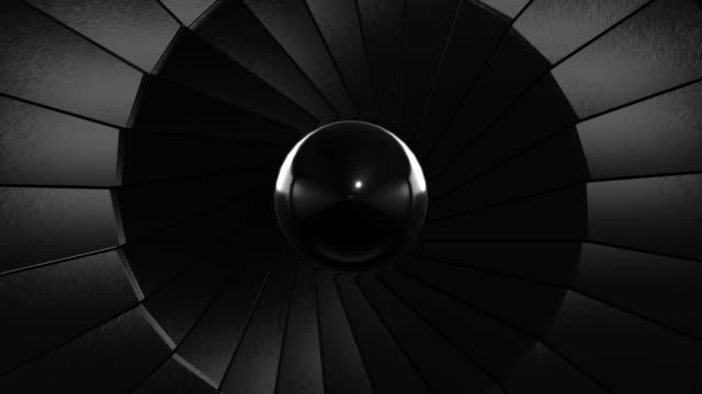 Close-up Jet Turbine (Loopable)