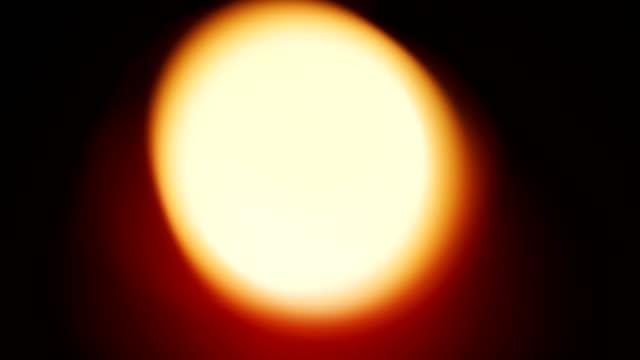 closeup macro of blurry light on candle