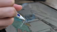 istock Close-up of Architect Using a digital pencil for Drawing with graphic tablet,Close-up 1167426891