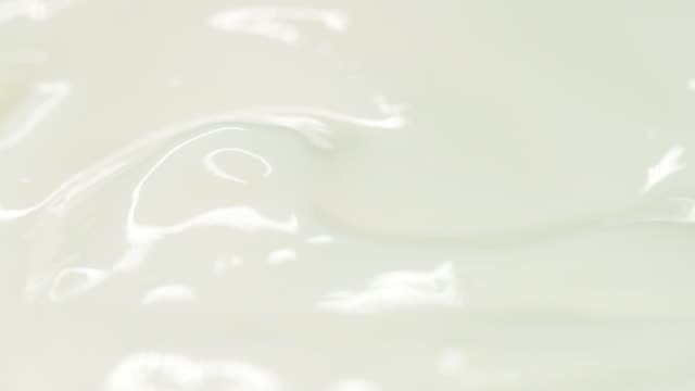 Close-up of cosmetics cream video