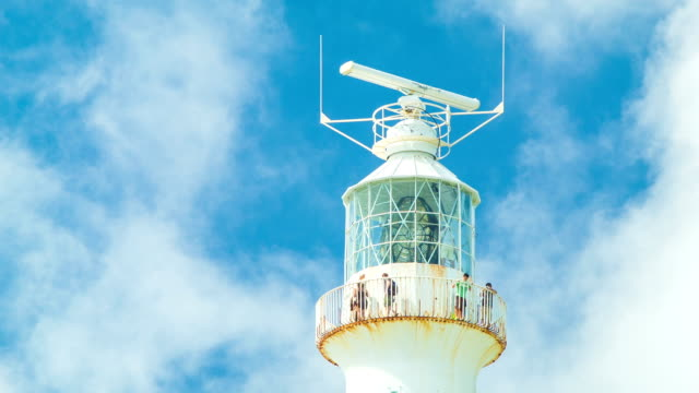 Close-up of Gibb's Hill Lighthouse in Bermuda video