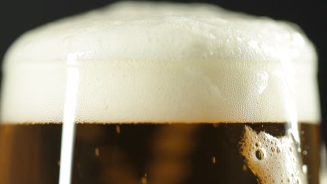 Close-up of pouring beer video