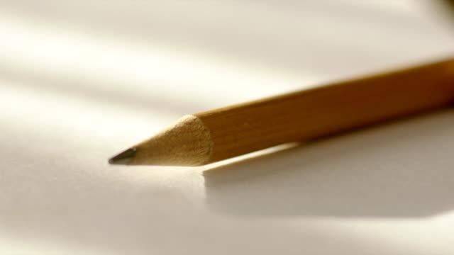 Closeup of Sharp Lead Pencil video