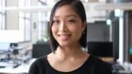 istock Close-up portrait of smiling female professional 1149218113