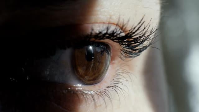Close-up shot of an eye