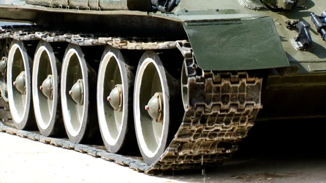 close-up - tank tracks