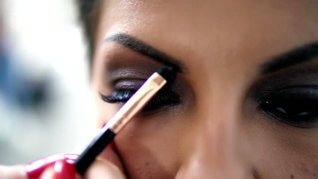 Best Eyebrow Makeup Stock Videos and Royalty-Free Footage