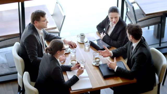 HD: Closing A Deal At The Café video