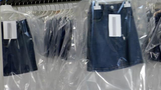 衣料品工場 - 服装点の映像素材/bロール