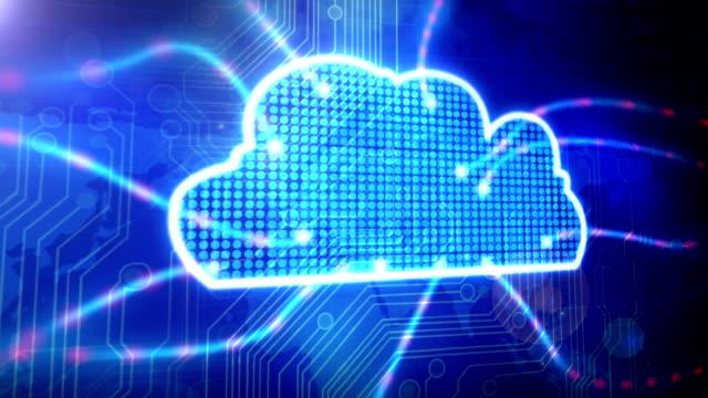 Cloud Computing Ciruit Board HD Video video