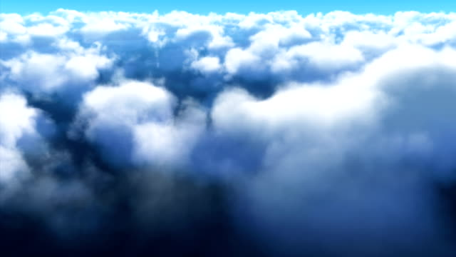 Cloud Fly Through In 4K Resolution Cloud fly through in 4K resolution. Alpha matte is included at the tail of the clip. alpha channel stock videos & royalty-free footage