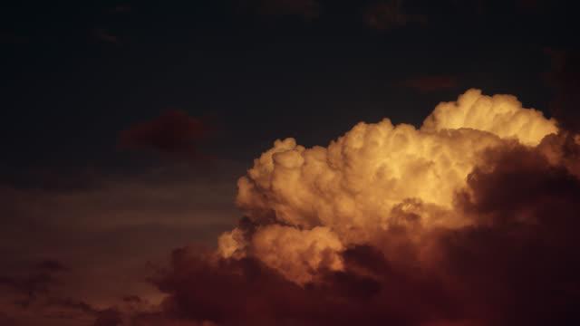 Cloud France Time lapse 4K Slow video