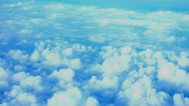 cloud in blue sky video