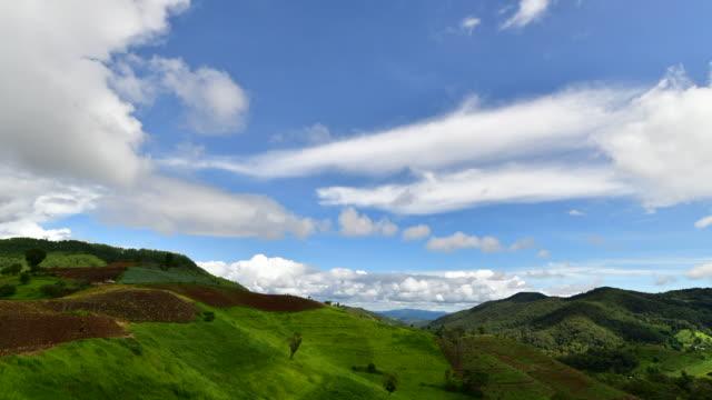 cloud movement time laps