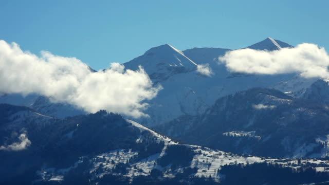 Cloud over Alps video